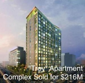 """The """"Troy"""" Apartment Building Complex SOLD for 6M"""
